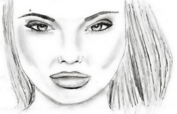 Angelina Jolie by pearlipopette